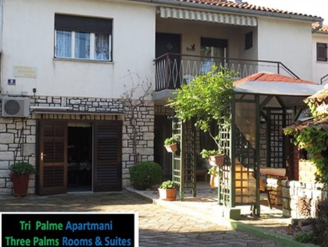 Apartmani i sobe Three Palms, Rovinj