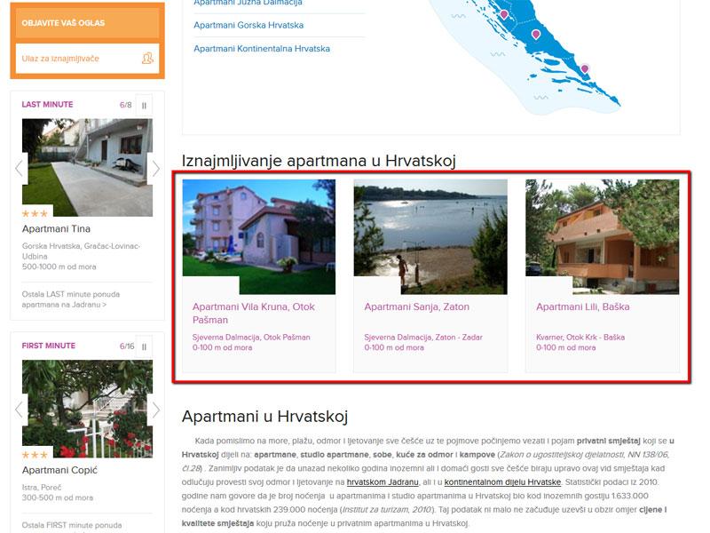 Hrvatska oglas Lični kontakti